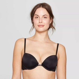 2- 36C  Lightly Lined Plunge Bra - Auden